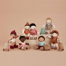 Load image into Gallery viewer, Olli Ella Dinkum Doll Knit Set - Plum