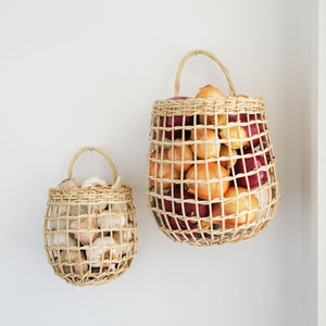 Rattan Onion Basket Duo | Olli Ella - Kids Toys and Storage