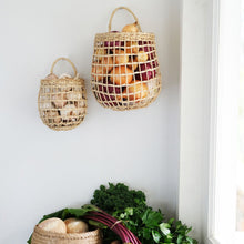 Load image into Gallery viewer, Rattan Onion Basket Duo | Olli Ella - Kids Toys and Storage