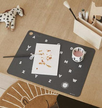Load image into Gallery viewer, Placemat Alphabet - Anthracite