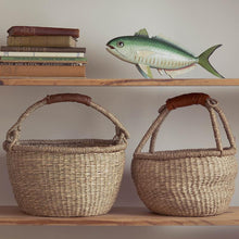 Load image into Gallery viewer, Bohemian Seagrass Baskets | Olli Ella Midi Bolga Basket