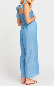 Parton Playsuit in Anchor Chambray by Show Me Your Mumu | Jumpsuits