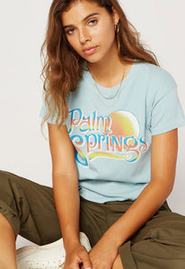 DayDreamer Palm Springs Tour Tee | Bohemian Clothing for Women