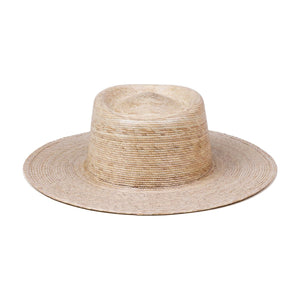 Palma Boater Hat by Lack of Color| Womens Straw Hats