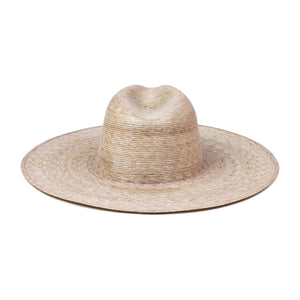 Wide Palma Fedora Hat from Lack of Color | Women's Straw Hat