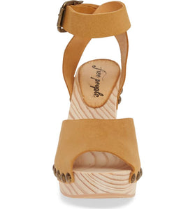 Pasadena Clog by Free People in Brown Womens Clogs