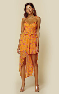 For Love and Lemons Peony High Low Dress