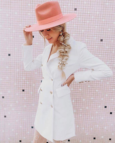 Lack of Color Rose Pink Rancher | Hats