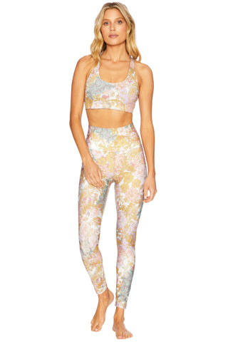 Piper Legging - Harvest Gold Paisley