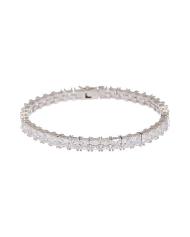 Luv Aj The Princess Ballier Bracelet in Silver