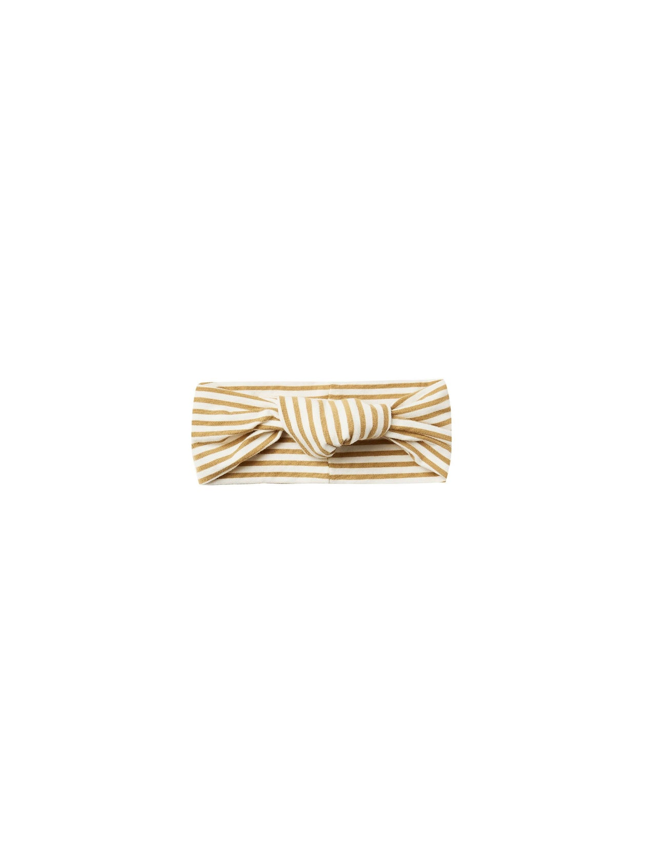 Quincy Mae Baby Turban Gold Stripe