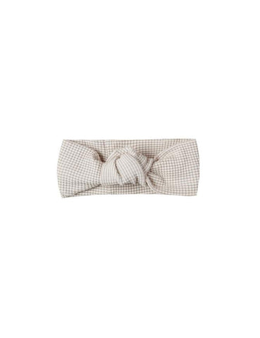 Baby Turban- Fog Stripe