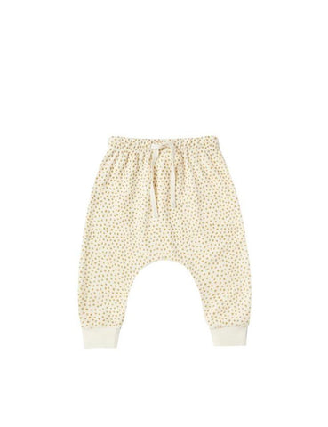 Terry Cloth Sweatpants - Ivory