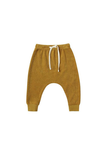 Terry Cloth Sweatpants - Ocre