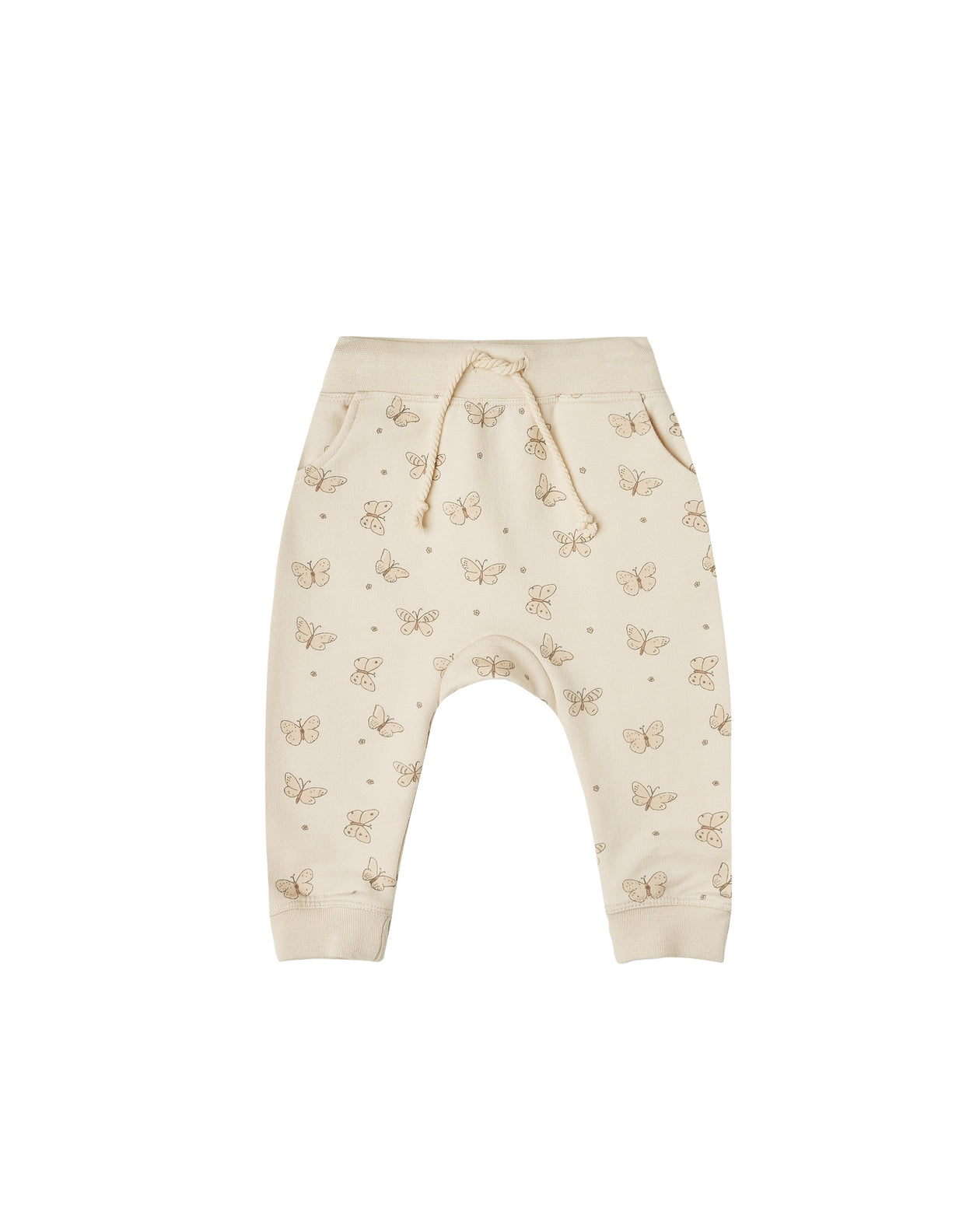 The Rylee & Cru Butterfly Terry Sweatpant Natural