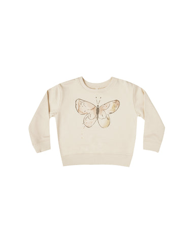 Butterfly Terry Sweatshirt Natural