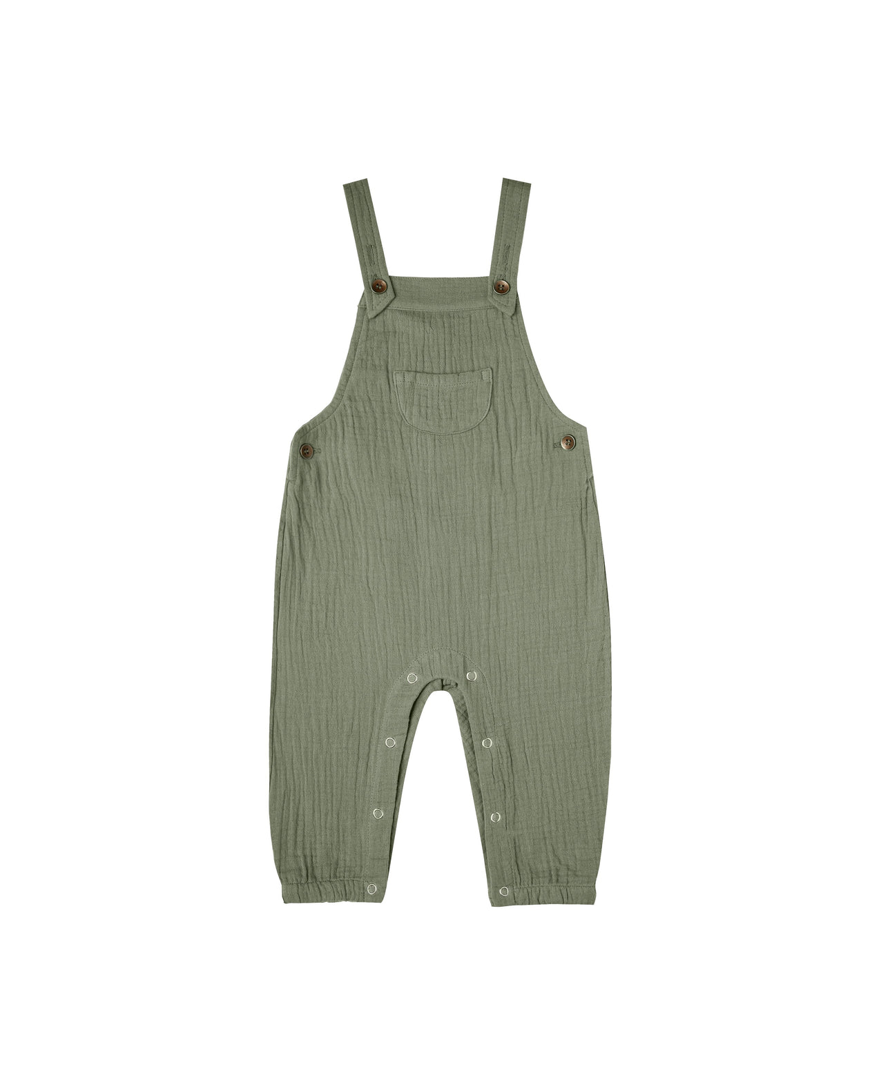 The Rylee & Cru Baby Overalls Fern