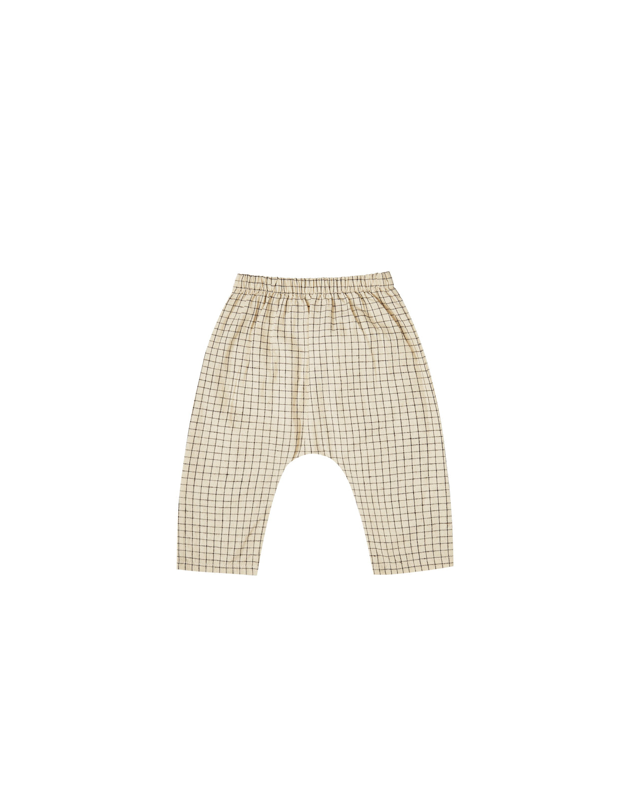 The Rylee & Cru Grid Orion Harem Pant Butter