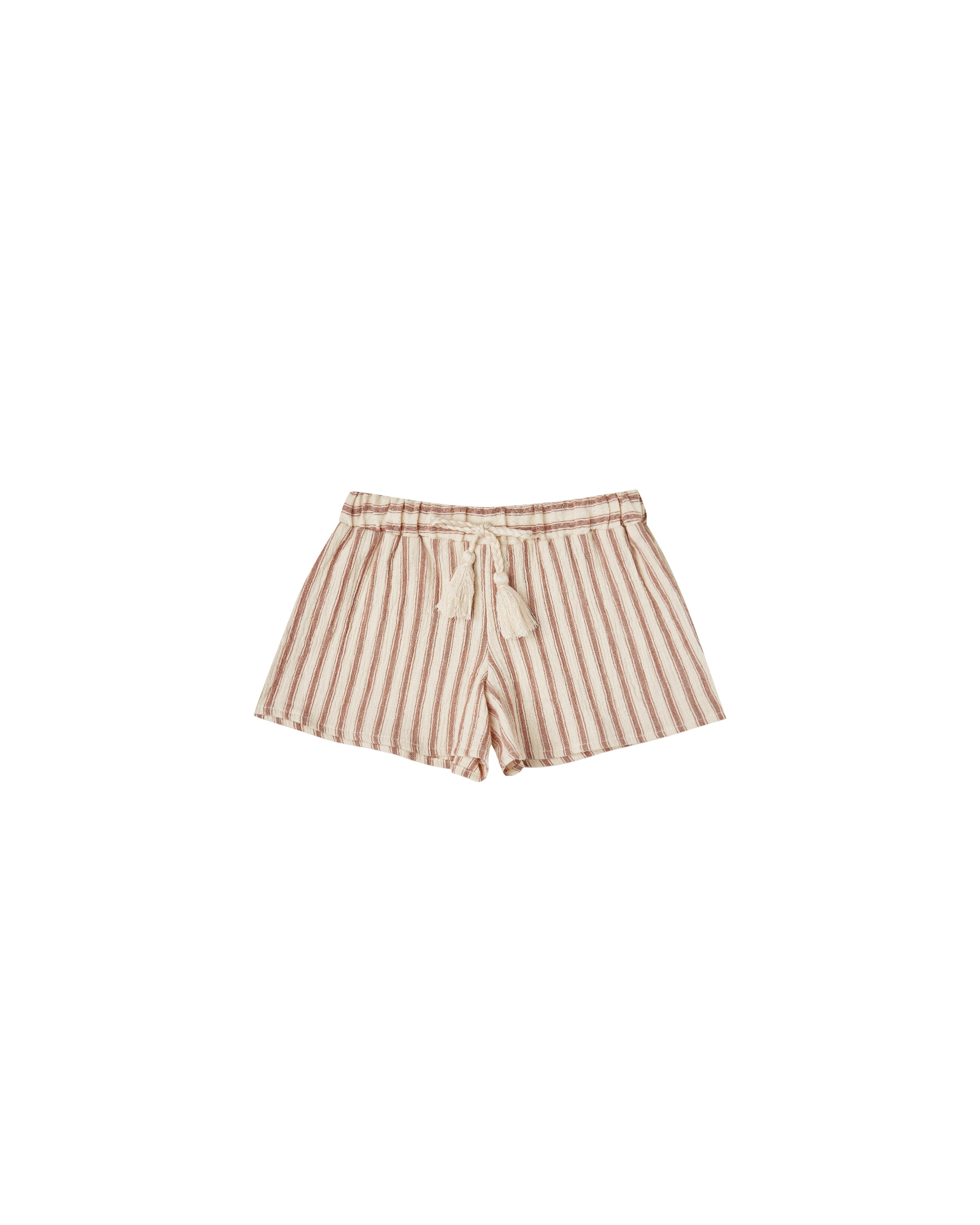 Load image into Gallery viewer, The Rylee & Cru Striped Solana Short Natural Amber