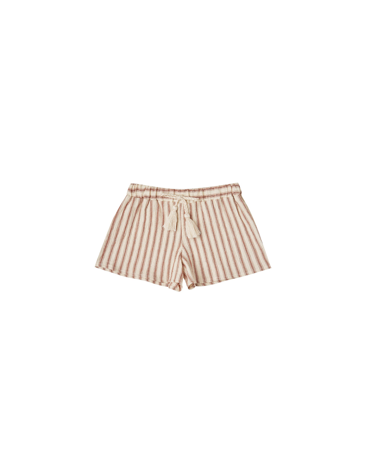 The Rylee & Cru Striped Solana Short Natural Amber