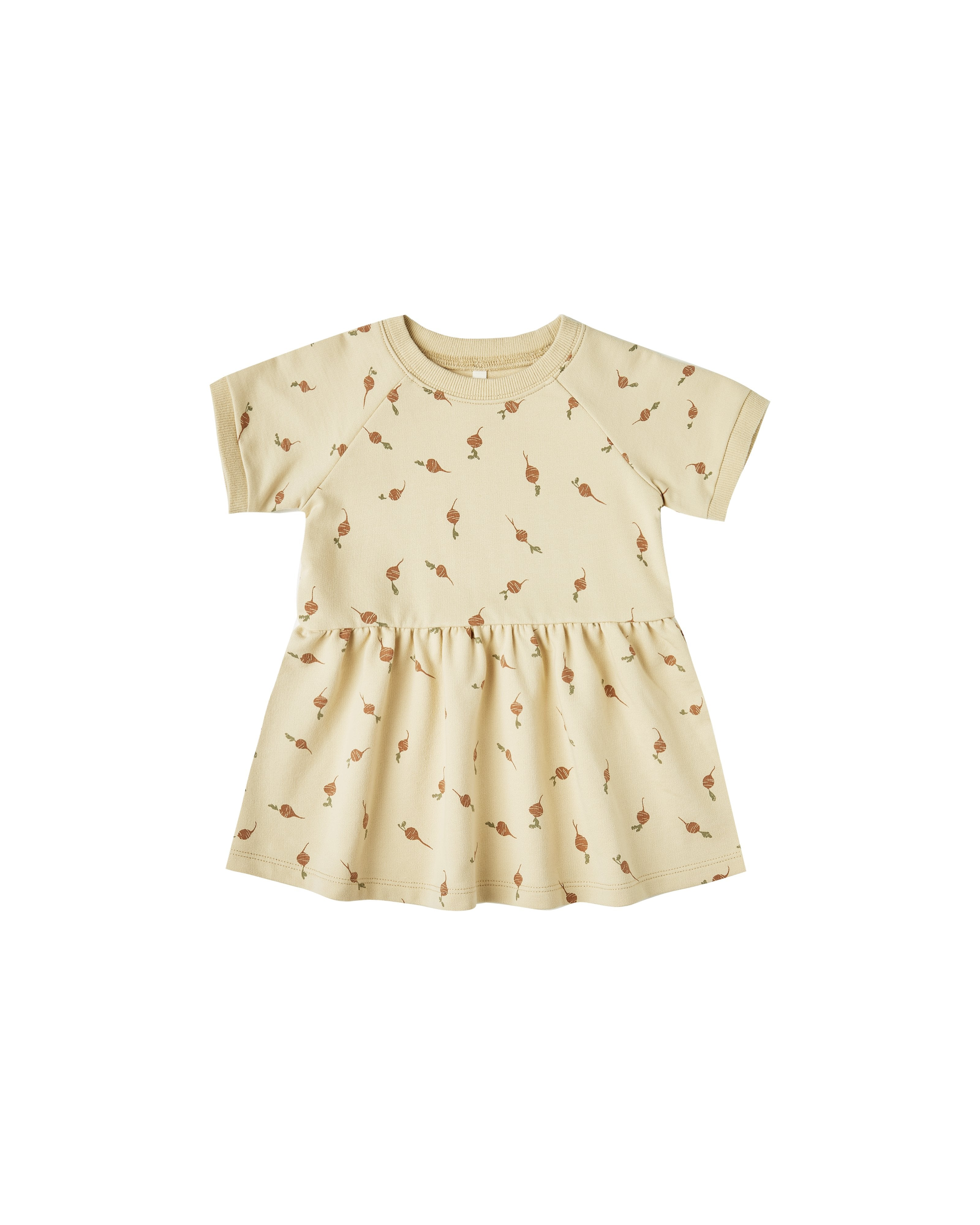 Load image into Gallery viewer, The Rylee & Cru Radish Raglan Dress Butter