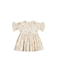 The Rylee & Cru Secret Garden Babydoll Dress Natural