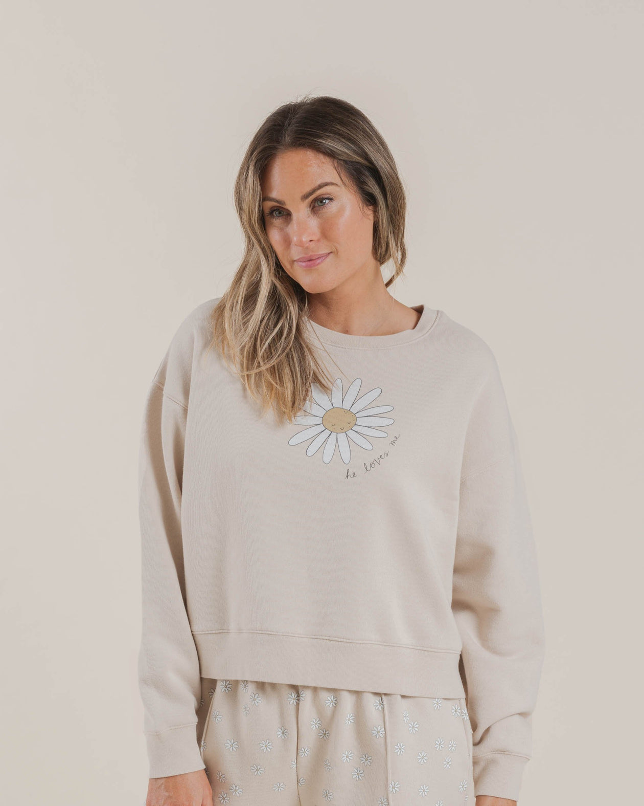 The Rylee & Cru Daisy Love Boxy Pullover Shell