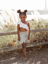 Load image into Gallery viewer, Rylee & Cru Wrap Ruffle Skirt Sage