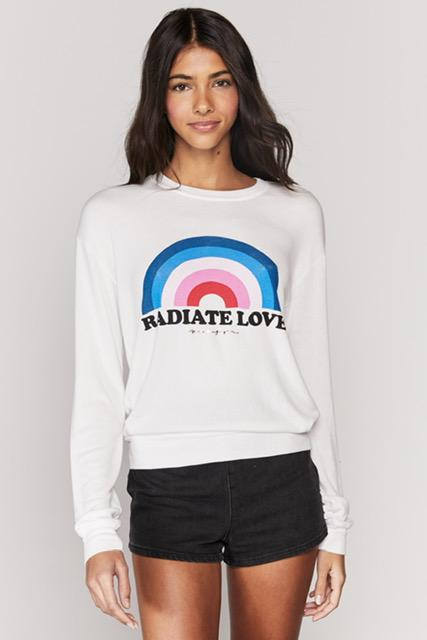 Load image into Gallery viewer, Spiritual Gangster Radiate Love Savasana Pullover | Crewneck