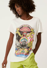 Load image into Gallery viewer, Rainbow Dreamland Tour Tee - Vintage White | Daydreamer LA - Women's Vintage Tee