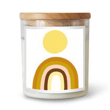 Load image into Gallery viewer, Rainbow Sun Candle by Natalie Jade | The Commonfolk Collective - Scented Candle