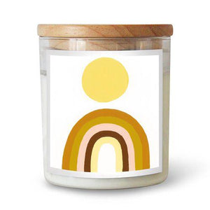Rainbow Sun Candle by Natalie Jade | The Commonfolk Collective - Scented Candle