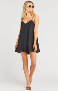 Rascal Romper in Black Crisp by Show Me Your Mumu | Bohemian Mama