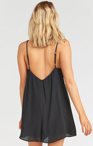 Rascal Romper in Black Crisp by Show Me Your Mumu | Summer Clothing for Women