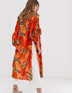 Free People Read my Palm Kimono - Terracotta