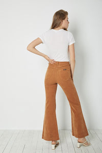 Rolla's East Coast Flare Tan Cord | Pants