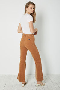 Rolla's East Coast Flare Tan Cord | Womens
