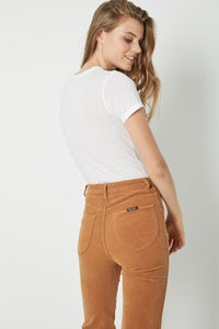 Rolla's East Coast Flare Tan Cord | Womens Pants
