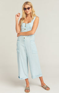 Run Around Jumpsuit in Shore Chambray by Show Me Your Mumu | Womens Jumpsuits
