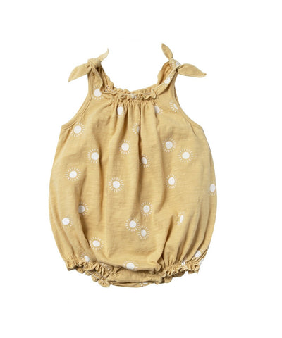 Rylee + Cru Sunburst Shoulder Tie Onesie | Toddler Bubble Onesies