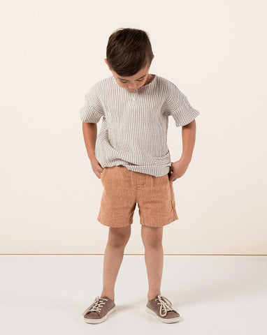 Drawstring Short - Bronze