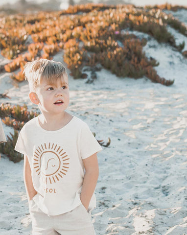 Rylee + Cru El Sol Basic Tee | Boys Little Boys Tees