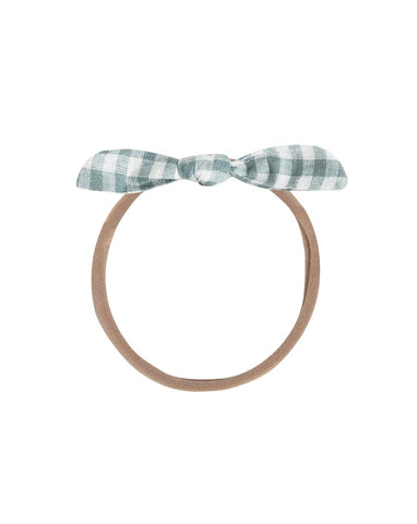 Gingham Little Knot Headband | Rylee + Cru Hometown Collection