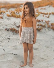 Load image into Gallery viewer, Rylee + Cru Flora Ruffle Wrap Skirt Olive | Little Girls Skirts