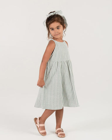 Girls Gingham Zoe Maxi Dress