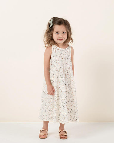 Girls Terrazzo Zoe Maxi Dress