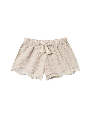 Natural Scallop Solana Short