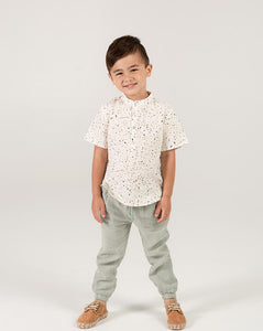 Rylee + Cru Seafoam Beau Pant | Little Boys Drawstring Pants
