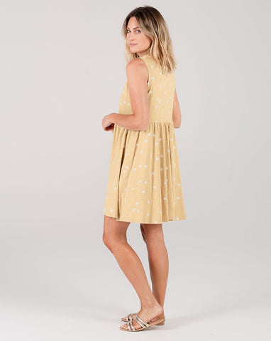 Sunburst Layla Dress by Rylee + Cru in Citron | Women's Dresses