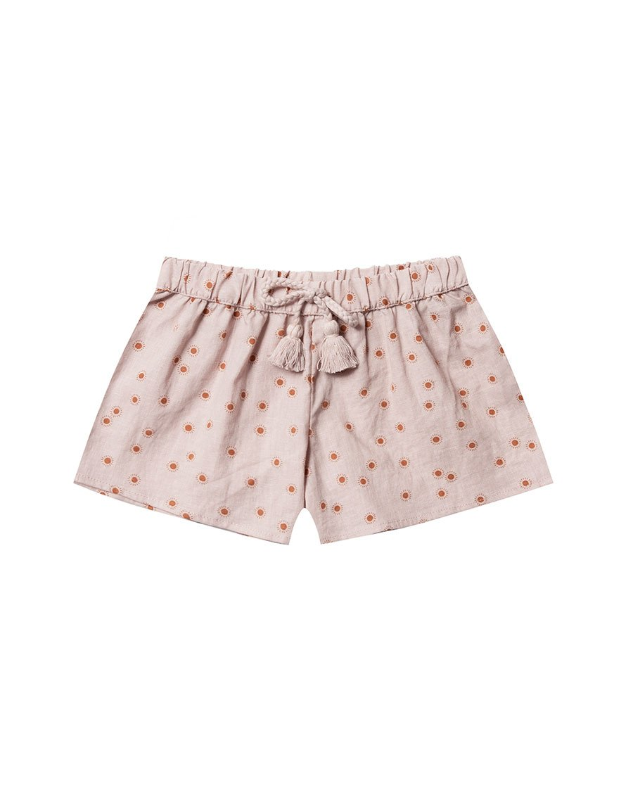 Load image into Gallery viewer, Rylee+Cru Sunburst Solana Scallop Short | Little Girls Bottoms
